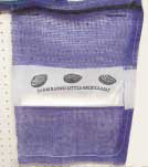 Purple Seafood Bags