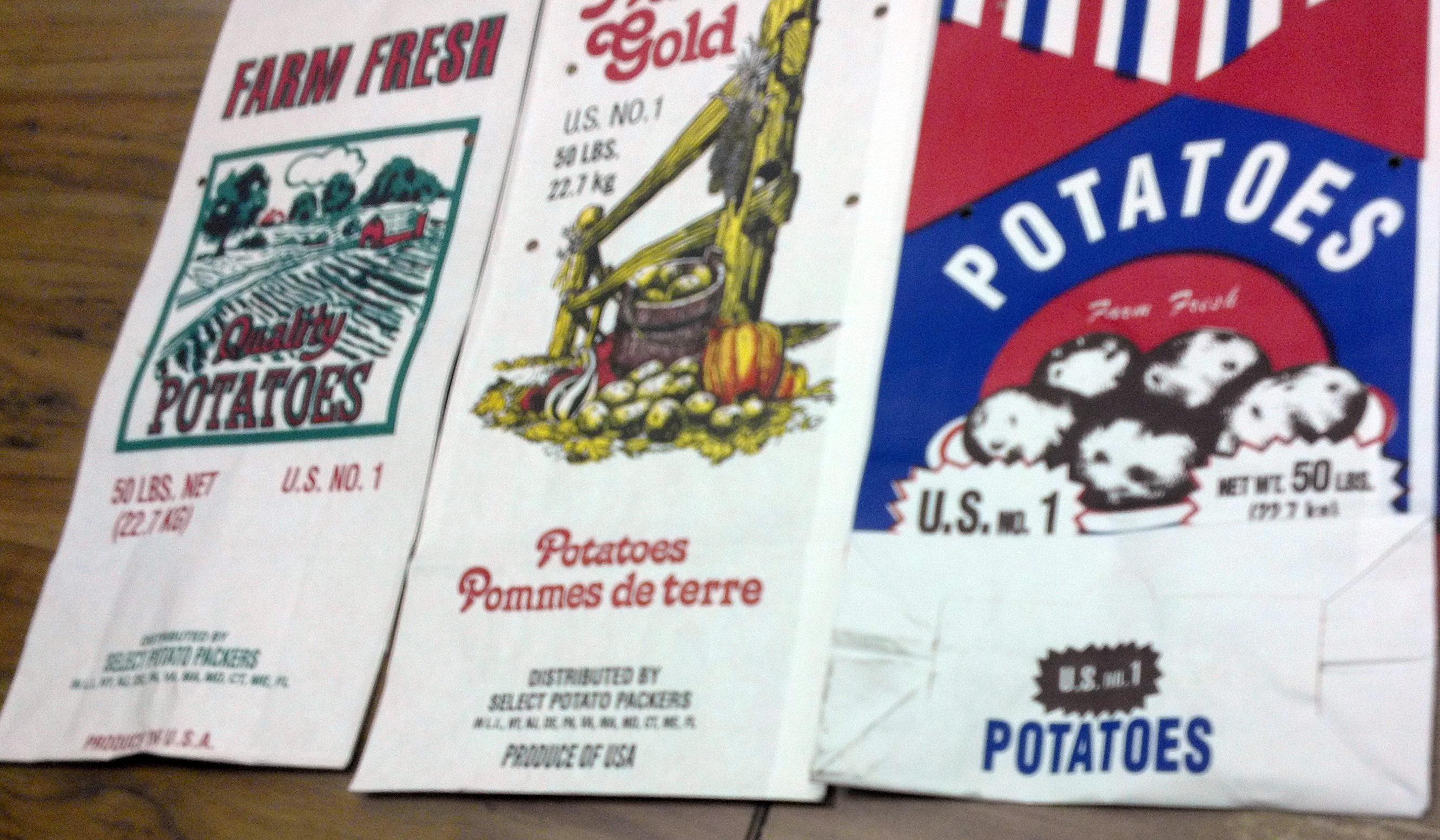 Paper Potato Bag 50lb