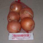 Onion Mesh Header Bag
